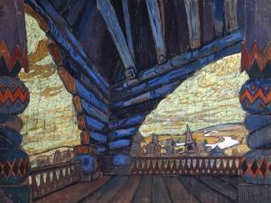 Gulbishche, 1900s by Nicholas Roerich