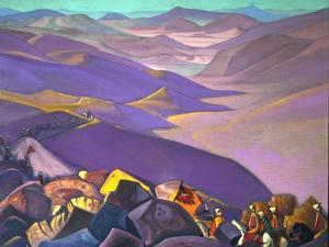 Mongolia. Genghis Khan's Campaign, 1937-1938 by Nicholas Roerich
