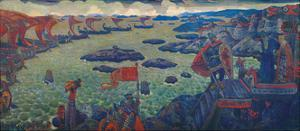 Ready for the Campaign, 1910 by Nicholas Roerich