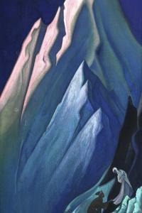 She Who Leads, 1944 by Nicholas Roerich