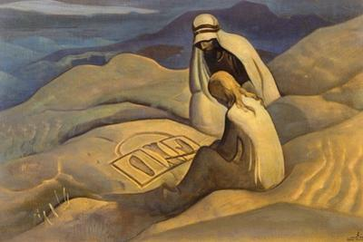Signs of Christ, 1924 by Nicholas Roerich