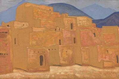 Taos Pueblo, New Mexico, Ca 1921
