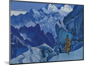 The Unspilled Chalice, 1927 (tempera on canvas) by Nicholas Roerich
