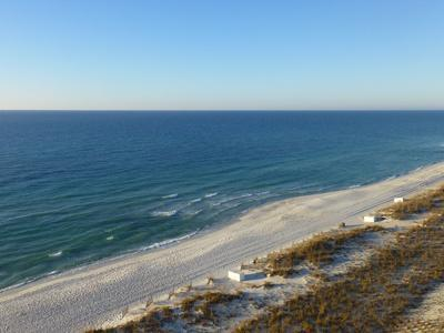 Aerial View of Pensacola Peach, Florida