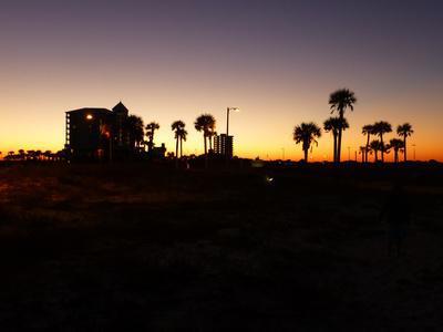 View at Pensacola Beach, Florida. November 2014.