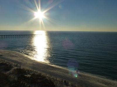 View of Pensacola Beach, Florida. November 2014.