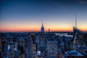 Top of the Rockefeller Center, New York by Nick Jackson