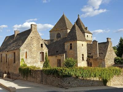 Europe, France, Dordogne, St Genies; the Chateau of St Genies