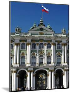St Petersburg, Main Entrance to the Saint Hermitage Museum or Winter Palace, Russia by Nick Laing