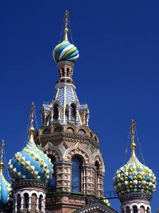 St Petersburg, the Church on Spilt Blood, Russia by Nick Laing