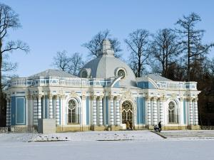 St Petersburg, Tsarskoye Selo, Catherine Palace - the Grotto, Russia by Nick Laing