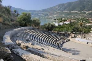 Small Theatre of Ancient Epidaurus (Epidavros), Argolis, Peloponnese, Greece, Europe by Nick Upton