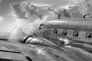 Vintage Airplane in Flight by Nick Vedros & Assoc.