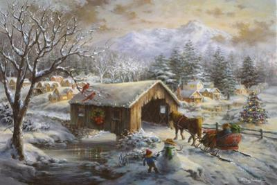 Covered Bridge by Nicky Boehme