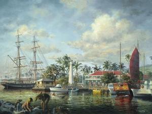 Lahaina Waterfront, Maui by Nicky Boehme