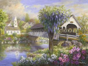 Picturesque Covered Bridge by Nicky Boehme