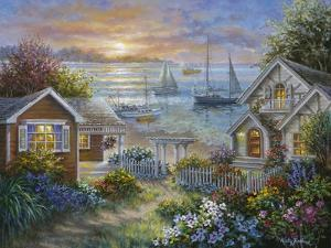 Tranquil Seafront by Nicky Boehme