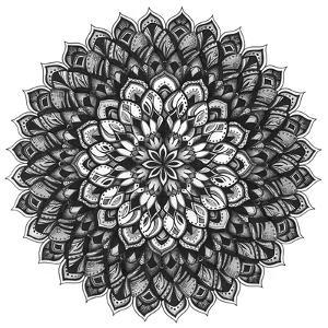 Gratitude Mandala by Nicky Kumar