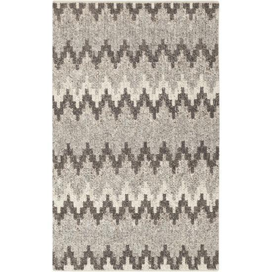 "Nico Area Rug - Charcoal/Ivory 5' x 7'6""--Home Accessories"