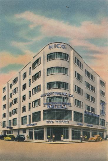 'Nico Building, Owners: P. & M. Matera, Barranquilla', c1940s-Unknown-Giclee Print