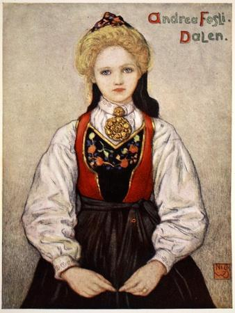 Country Girl from Dalen, 1905