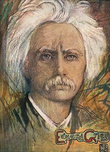 Edvard Hagerup Grieg by Nico Jungman