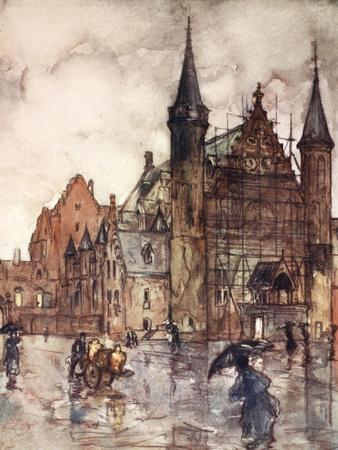 The Binnenhof, the Hague, 1904