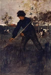 The Mower, 1904 by Nico Jungman