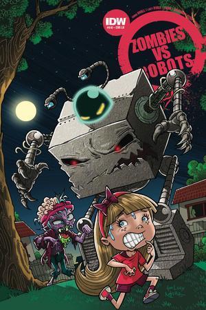 Zombies vs. Robots: No. 10 - Cover Art