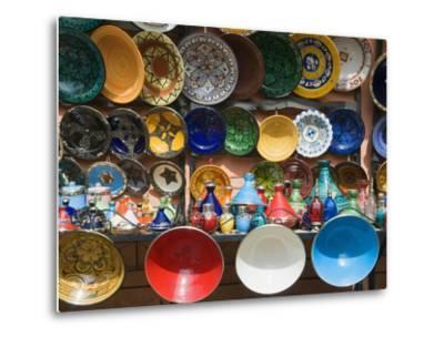 Ceramics for Sale, Souk, Medina, Marrakech (Marrakesh), Morocco, North Africa