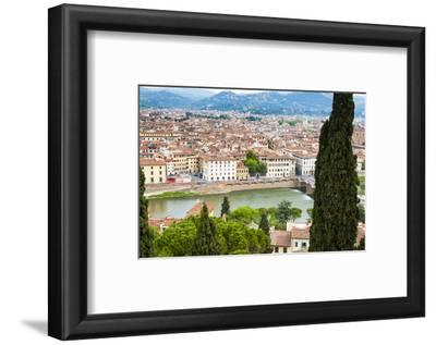 City Center of Florence, River Arno, Firenze, UNESCO, Tuscany, Italy