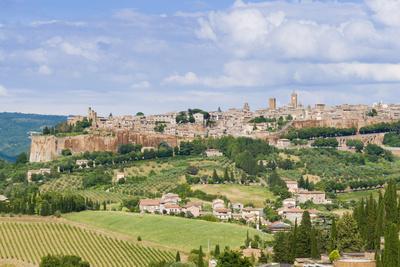 Cityscape, Orvieto, Umbria, Italy