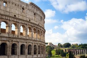 Colosseum (Flavian Amphitheatre), UNESCO World Heritage Site, Rome, Lazio, Italy, Europe by Nico Tondini