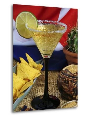 Daiquiri Cocktail and Cuban Flag, Caribbean