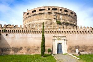Mausoleum of Hadrian (Castel Sant'Angelo), UNESCO World Heritage Site, Rome, Lazio, Italy, Europe by Nico Tondini