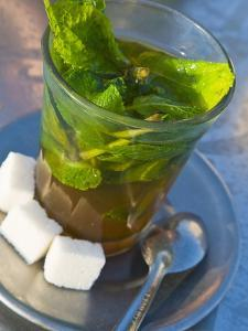 Mint Tea, Marrakech, Morocco, North Africa, Africa by Nico Tondini