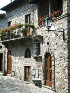 Montefioralle, Greve in Chianti, Firenze Province, Tuscany, Italy, Europe by Nico Tondini