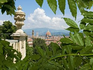 Panoramic View of Florence from Bardini Garden, Florence, UNESCO World Heritage Site, Italy by Nico Tondini