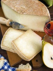 Pecorino Cheese, Tuscany, Italy by Nico Tondini