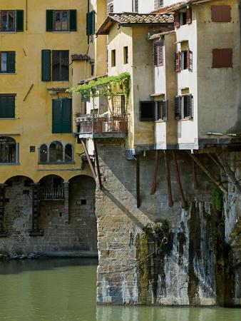 Ponte Vecchio (1345), Florence (Firenze), UNESCO World Heritage Site, Tuscany, Italy