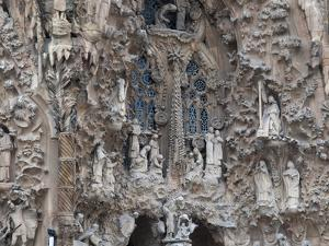 Sagrada Familia Cathedral by Gaudi, UNESCO World Heritage Site, Barcelona, Catalunya, Spain by Nico Tondini