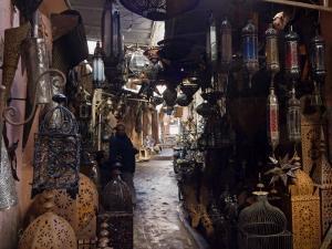 Souk, Marrakech (Marrakesh), Morocco, North Africa, Africa by Nico Tondini