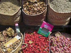 Spices for Sale, Souk in the Medina, Marrakech (Marrakesh), Morocco, North Africa by Nico Tondini