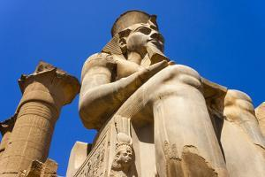 Statue of Ramses Ii, Luxor, Thebes by Nico Tondini