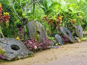 Stone Money Bank, Yap, Micronesia, Pacific by Nico Tondini