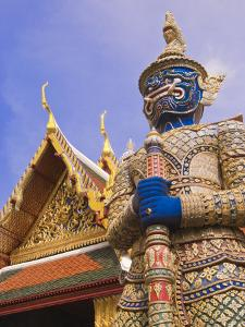 Temple of the Emerald Buddha, Grand Palace, Bangkok, Thailand by Nico Tondini