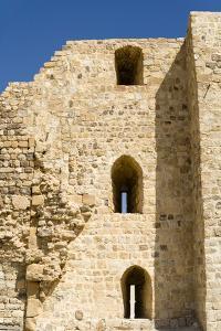 The crusader fort of Kerak Castle, Kerak, Jordan. by Nico Tondini