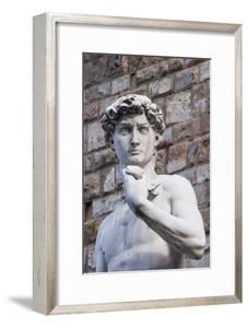 The David, by Michelangelo, Palazzo Vecchio by Nico Tondini