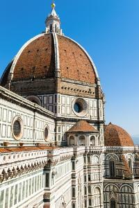 The Dome of the Duomo Santa Maria Del Fiore, Florence (Firenze),Tuscany, Italy, Europe by Nico Tondini