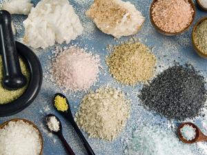 Various Types of Salt by Nico Tondini